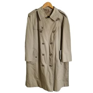 PORTS INTERNATIONAL Beige Classic Trench Coat